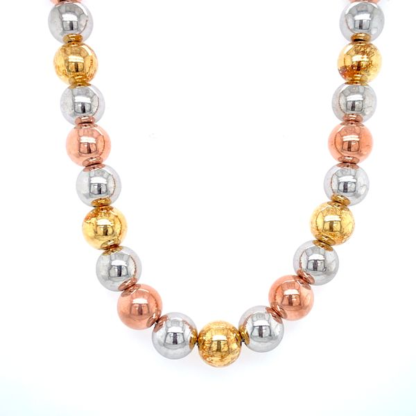 Sterling Silver Tri-Color Necklace Confer's Jewelers Bellefonte, PA