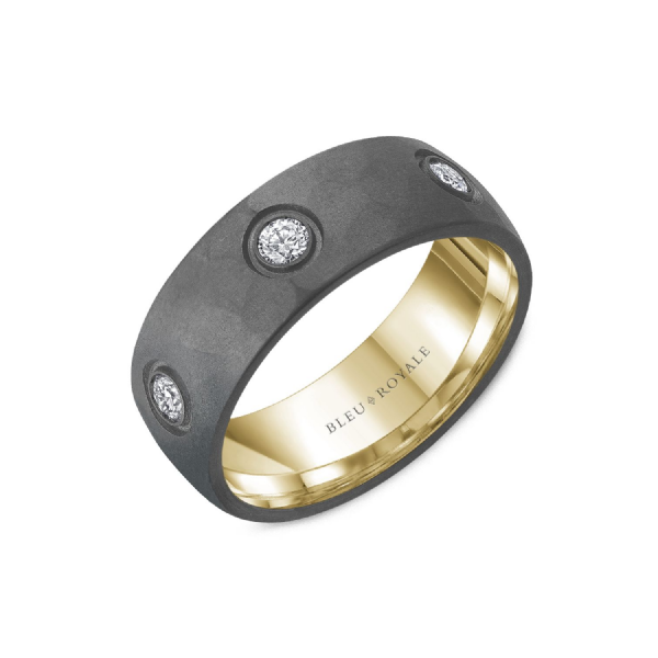 DIAMOND MEN'S WEDDING BAND Cottage Hill Diamonds Elmhurst, IL
