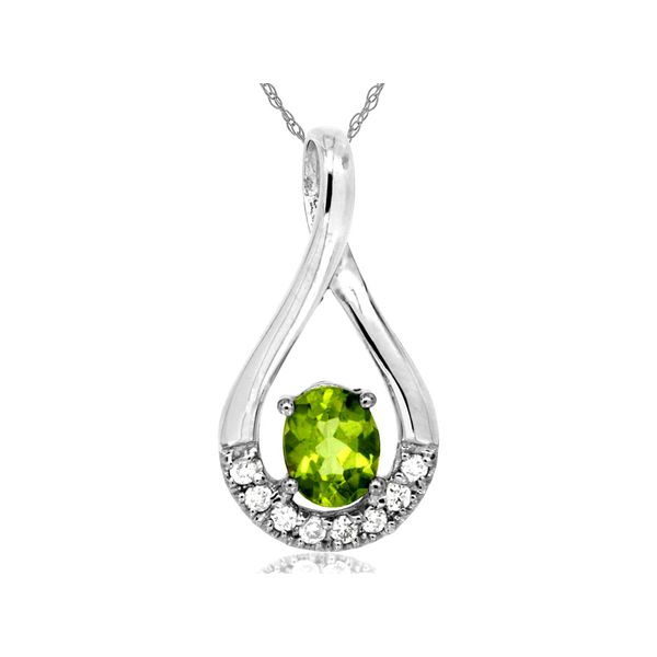 PERIDOT & DIAMOND PENDANT Cottage Hill Diamonds Elmhurst, IL