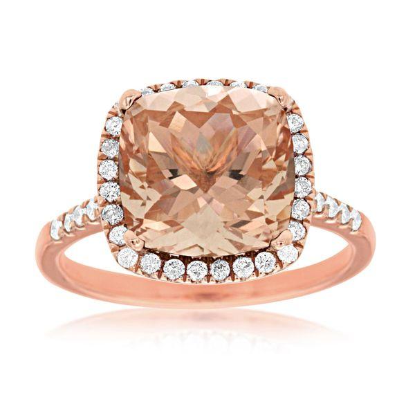 MORGANITE & DIAMOND RING Cottage Hill Diamonds Elmhurst, IL