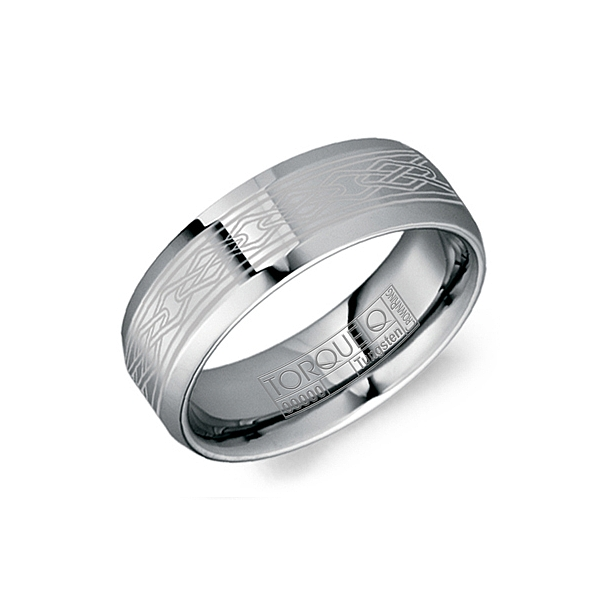 TUNGSTEN CARBIDE MEN'S WEDDING BAND Cottage Hill Diamonds Elmhurst, IL