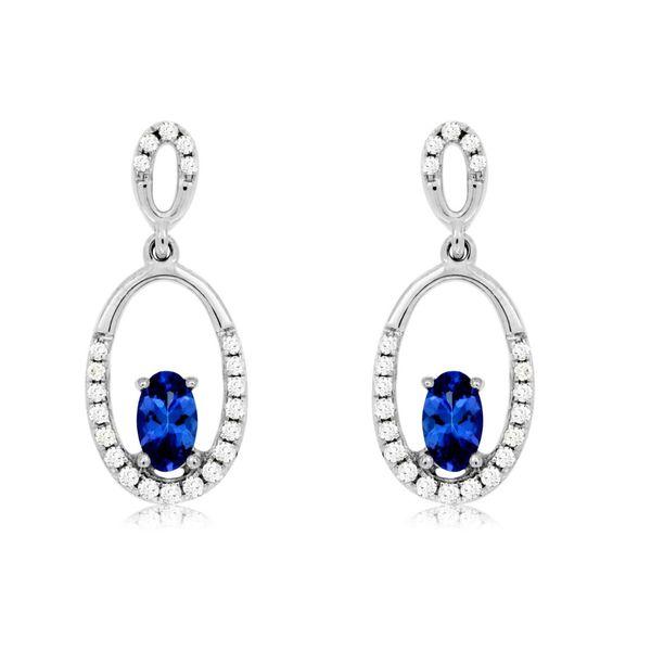 TANZANITE & DIAMOND EARRINGS Cottage Hill Diamonds Elmhurst, IL