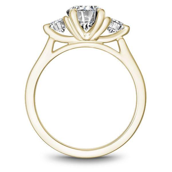 Round Diamond Three Stone Engagement Ring Image 2 Cottage Hill Diamonds Elmhurst, IL