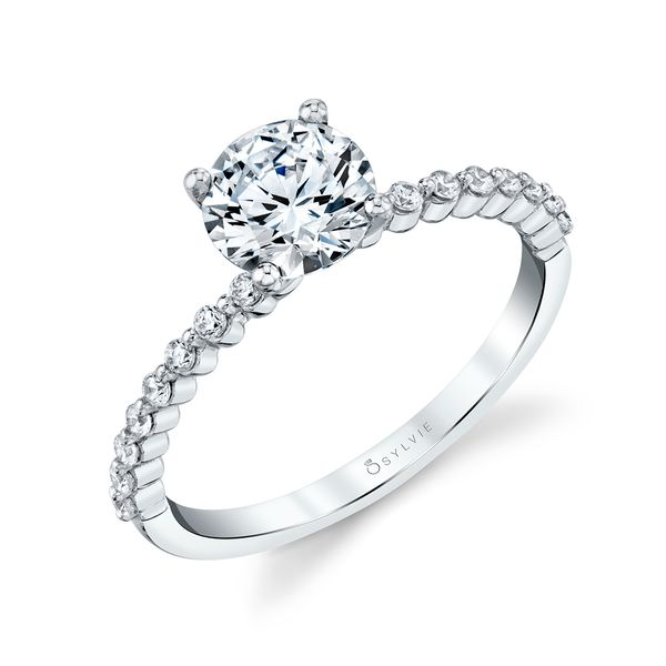 ROUND CLASSIC ENGAGEMENT RING - ESTELLE Cottage Hill Diamonds Elmhurst, IL