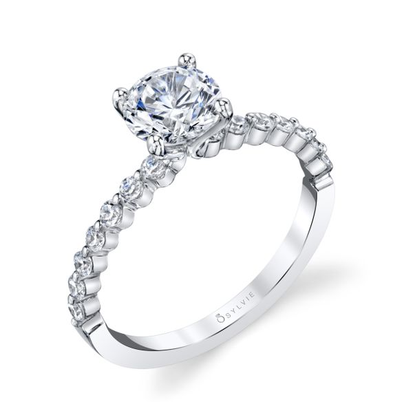 CLASSIC ENGAGEMENT RING - ATHENA Cottage Hill Diamonds Elmhurst, IL