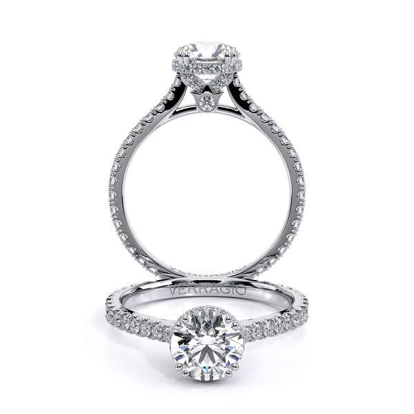 Renaissance Collection Halo Engagement Ring Cottage Hill Diamonds Elmhurst, IL