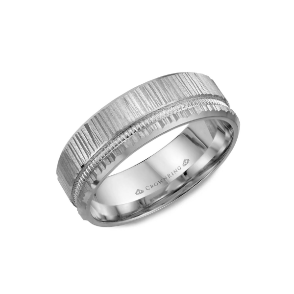 GOLD MEN'S WEDDING BAND Cottage Hill Diamonds Elmhurst, IL
