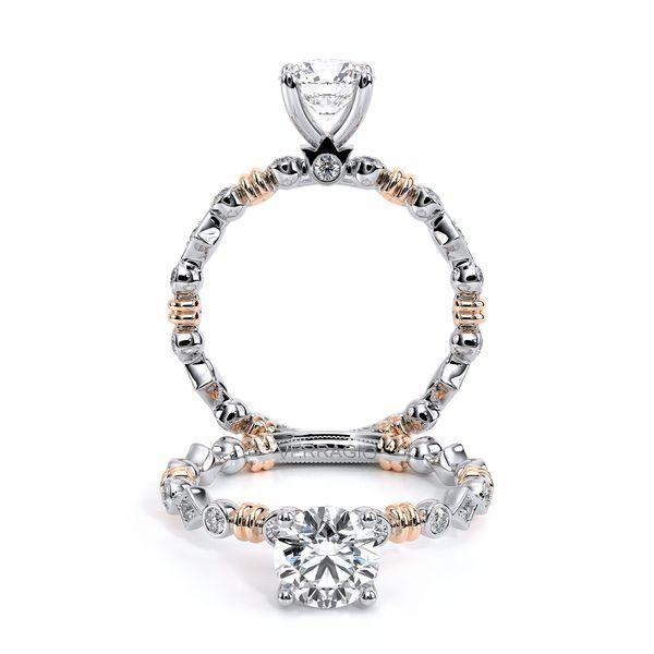Renaissance Collection Two Tone Engagement Ring Cottage Hill Diamonds Elmhurst, IL
