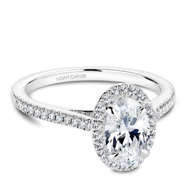 Oval Diamond Halo Engagement Ring Cottage Hill Diamonds Elmhurst, IL