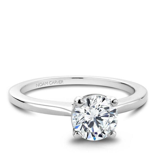 Round Solitaire Diamond Engagement Ring Cottage Hill Diamonds Elmhurst, IL