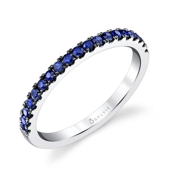 CLASSIC BLUE SAPPHIRE WEDDING BAND Cottage Hill Diamonds Elmhurst, IL