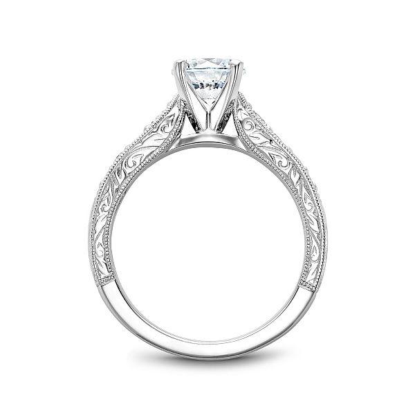 Round Diamond Engagement Ring Image 2 Cottage Hill Diamonds Elmhurst, IL