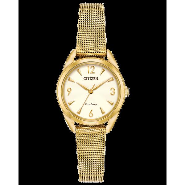 Ladies Gold Tone Drive Bracelet WR Coughlin Jewelers St. Clair, MI