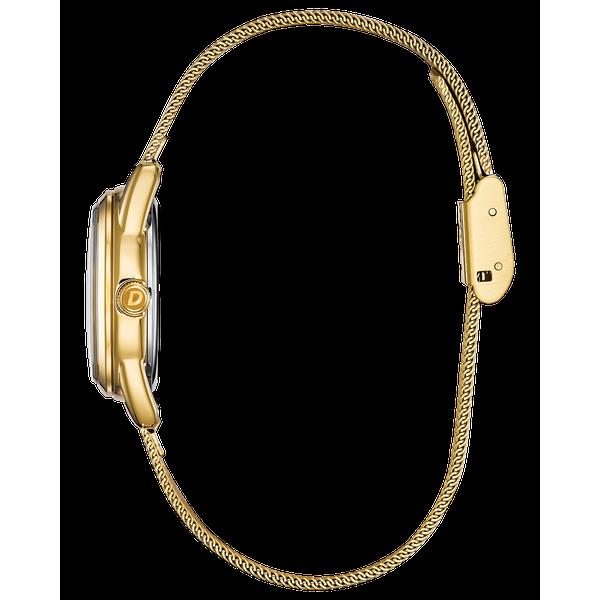 Ladies Gold Tone Drive Bracelet WR Image 2 Coughlin Jewelers St. Clair, MI