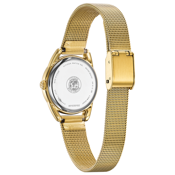 Ladies Gold Tone Drive Bracelet WR Image 3 Coughlin Jewelers St. Clair, MI