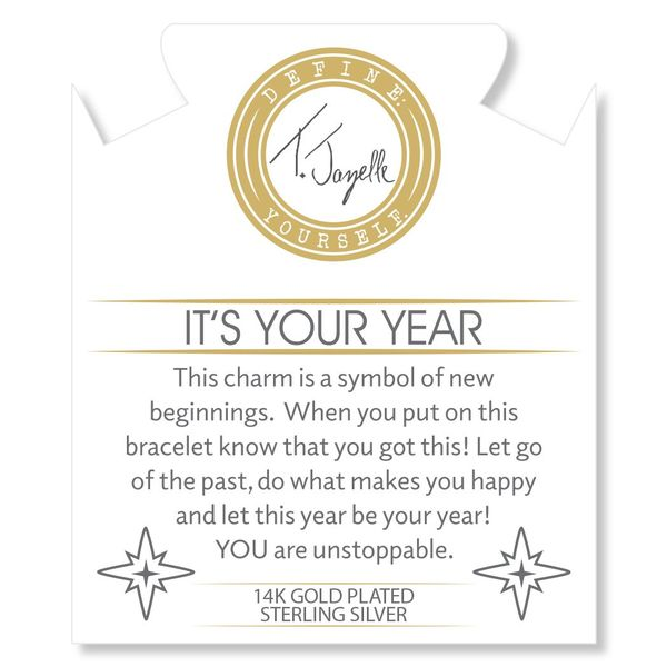Your Year Gold Info Charm