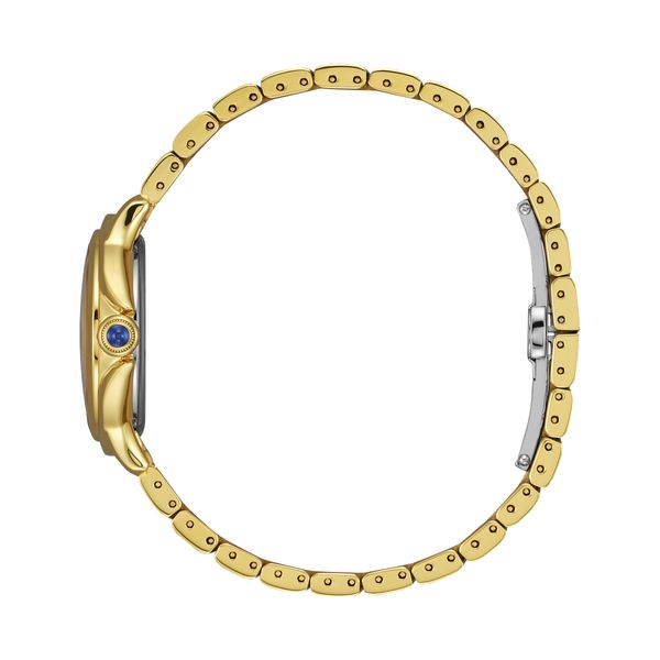 Ladies Ceci Goldtone Citizen Watch with White Dial Image 2 Coughlin Jewelers St. Clair, MI