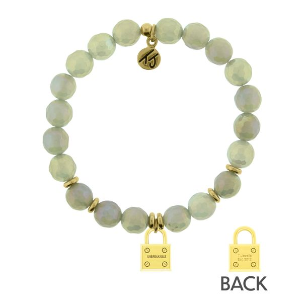 Mystic Grey Agate - Unbreakable Gold