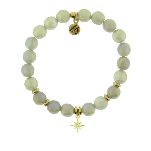 Mystic Grey Agate - Your Year Gold