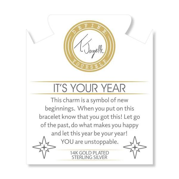 Your Year Gold Info Card