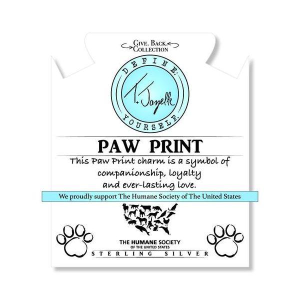 Paw Print Info Card