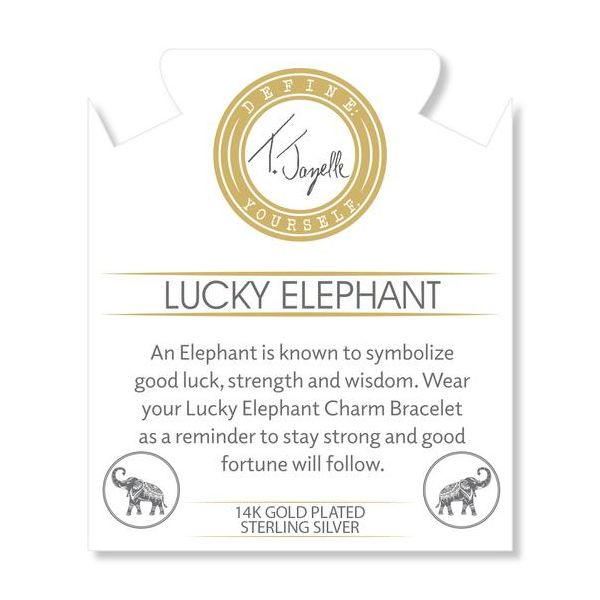 Lucky Elephant Gold Info Card