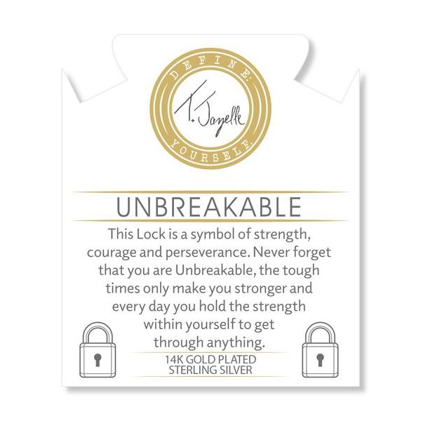 Unbreakable Gold Info Card