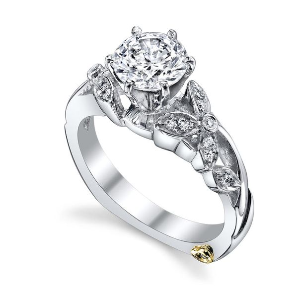 """""""Adore"""" Semi-Mount Engagement Ring Coughlin Jewelers St. Clair, MI"""