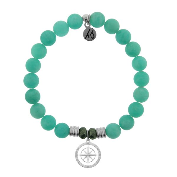 Peruvian Amazonite Compass Rose