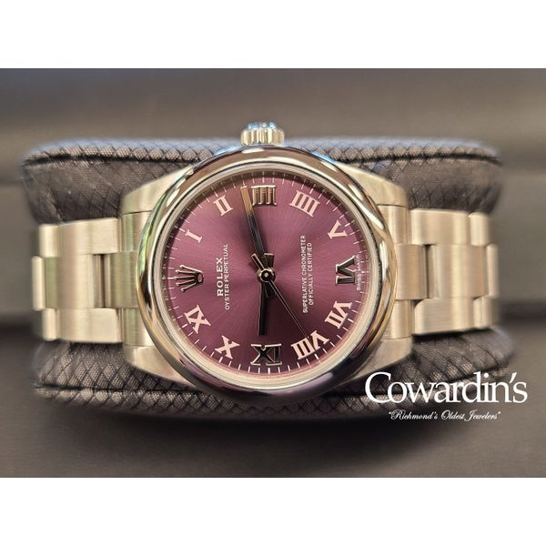 Rolex Oyster Perpetual 31MM Ref. 177200 Cowardin's Jewelers Richmond, VA