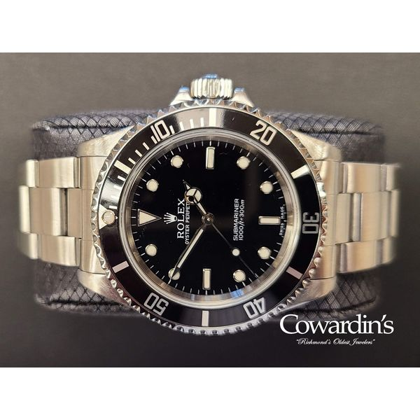 Rolex Oyster Perpetual Submariner 14060M Cowardin's Jewelers Richmond, VA