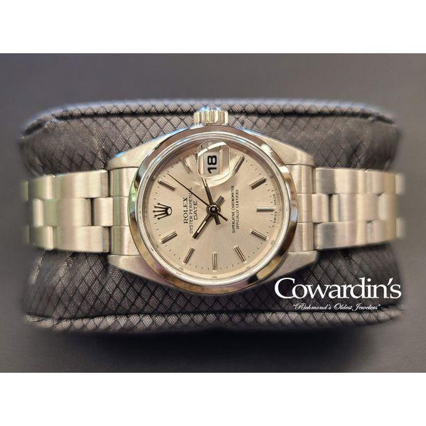 Rolex Lady Oyster Perpetual Date 26MM Ref. 69160 Cowardin's Jewelers Richmond, VA