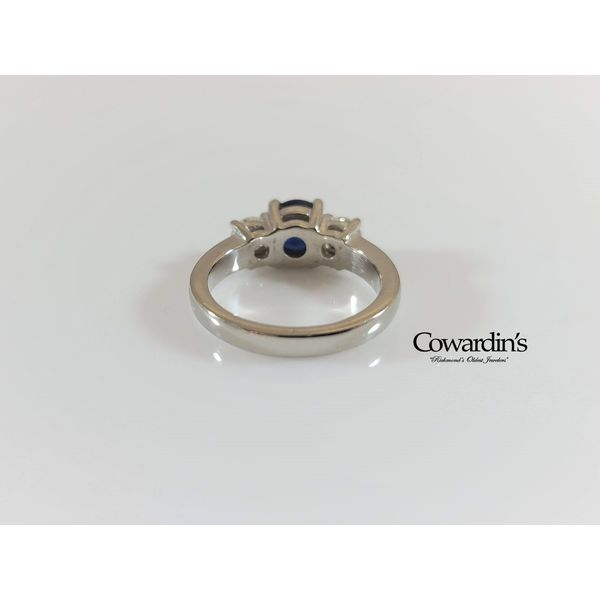 EST-1910 Sapphire and Diamond Ring