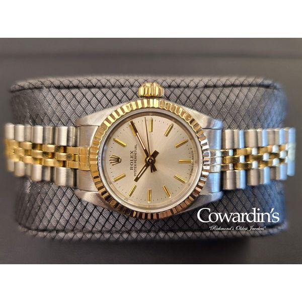 Rolex Oyster Perpetual 24MM 67193 Cowardin's Jewelers Richmond, VA