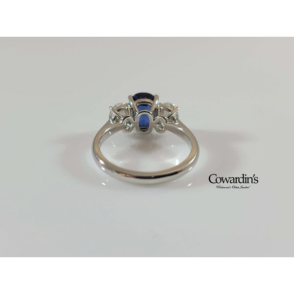 EST-1865 Sapphire and Diamond Ring