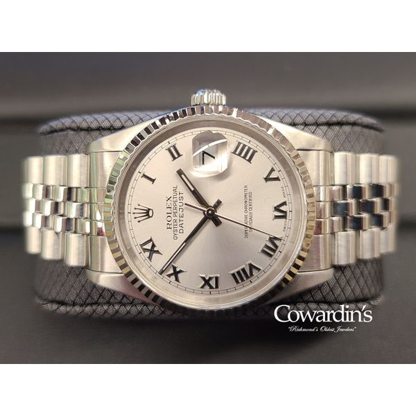 Rolex Oyster Perpetual Datejust 36MM 16234 Cowardin's Jewelers Richmond, VA