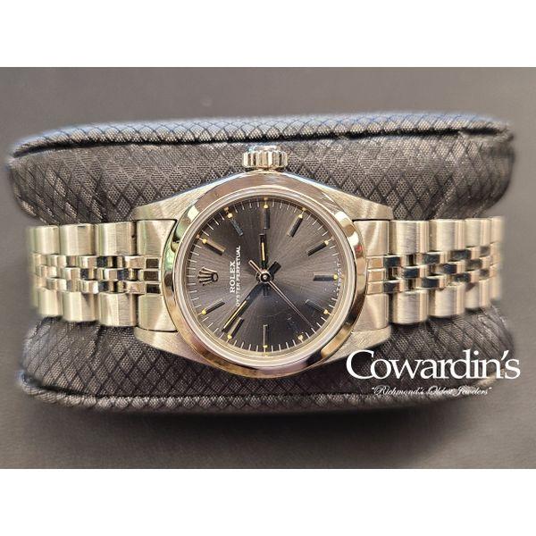 Rolex Lady Oyster Perpetual 24MM 67180 Cowardin's Jewelers Richmond, VA