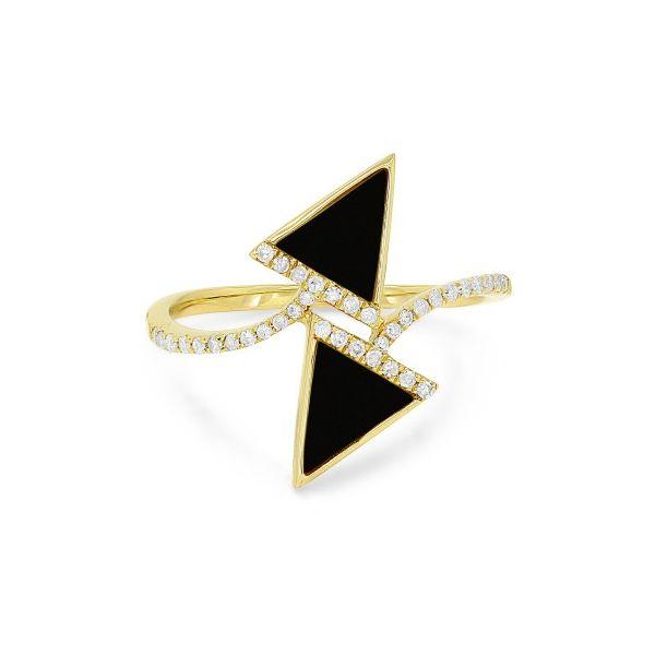 Black Onyx and Diamond Ring Darrah Cooper, Inc. Lake Placid, NY