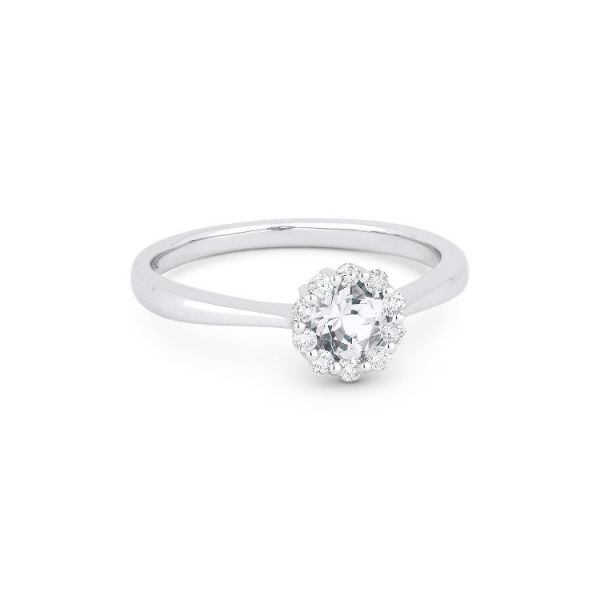 White Topaz and Diamond Ring Darrah Cooper, Inc. Lake Placid, NY