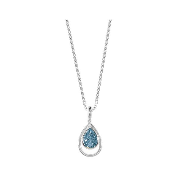 Light Blue Topaz Necklace Darrah Cooper, Inc. Lake Placid, NY