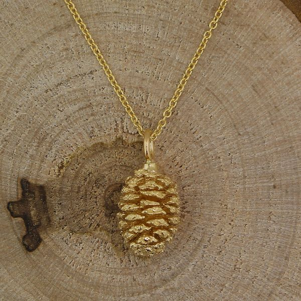 Pine Cone Necklace (Small) Darrah Cooper, Inc. Lake Placid, NY