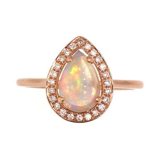 Opal and Diamond Ring Darrah Cooper, Inc. Lake Placid, NY