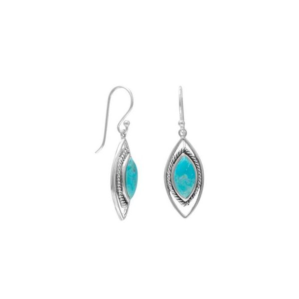Turquoise Earrings Darrah Cooper, Inc. Lake Placid, NY