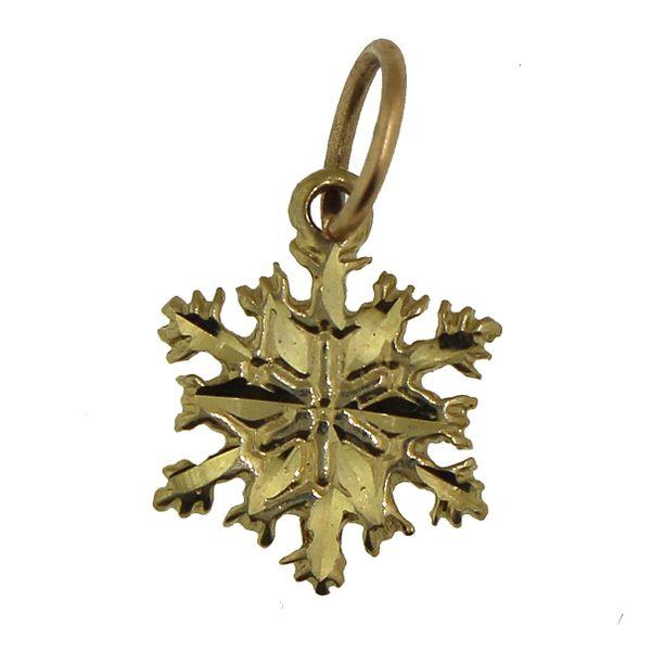 Snowflake-Small Gold Darrah Cooper, Inc. Lake Placid, NY