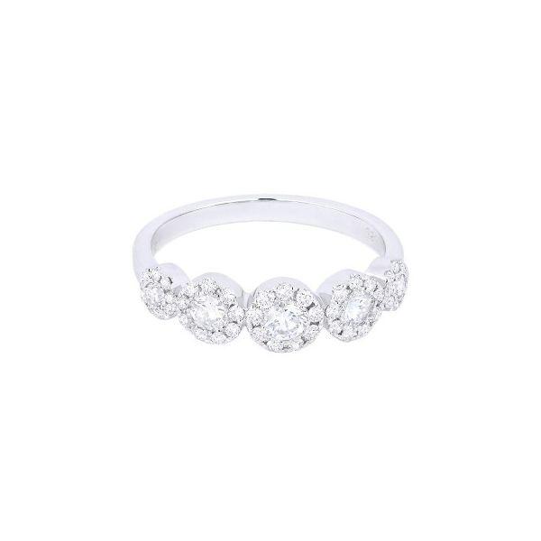 Diamond Halo Style Band Ring Darrah Cooper, Inc. Lake Placid, NY