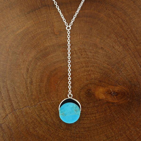 Inlaid Turquoise Necklace Darrah Cooper, Inc. Lake Placid, NY