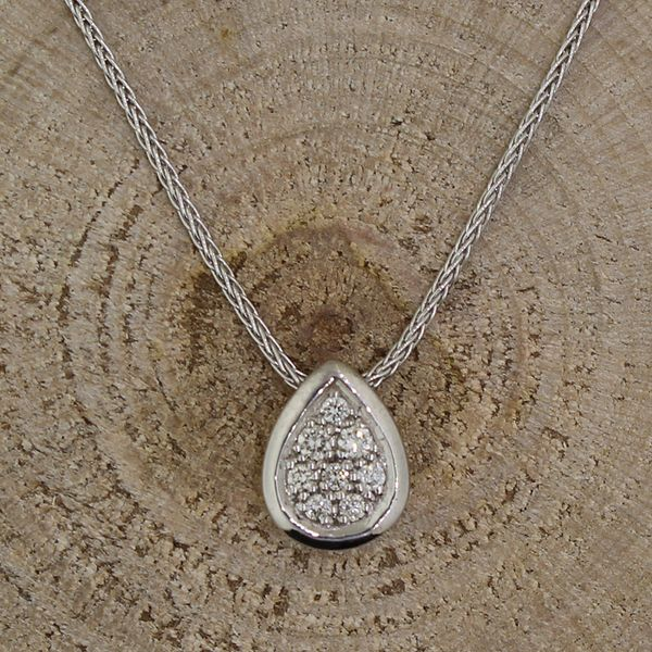 Diamond Cluster Necklace Darrah Cooper, Inc. Lake Placid, NY