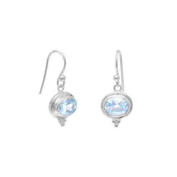 Blue Topaz Earrings Darrah Cooper, Inc. Lake Placid, NY