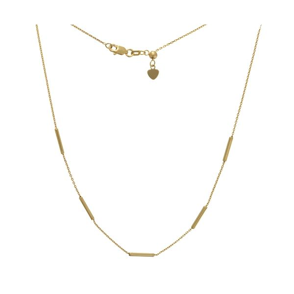 Gold Choker Necklace Image 3 Darrah Cooper, Inc. Lake Placid, NY