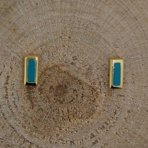 Enamel Bar Earrings Darrah Cooper, Inc. Lake Placid, NY